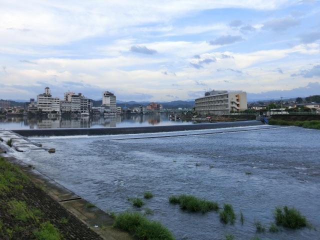 三隈川 ランニング (3)