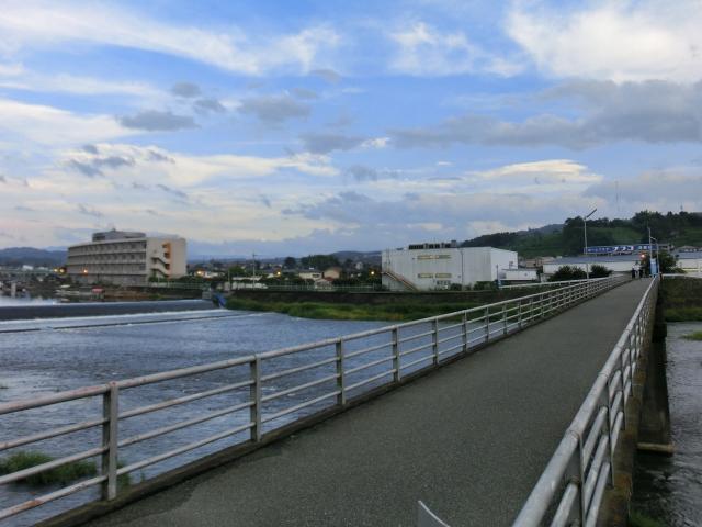 三隈川 ランニング (2)