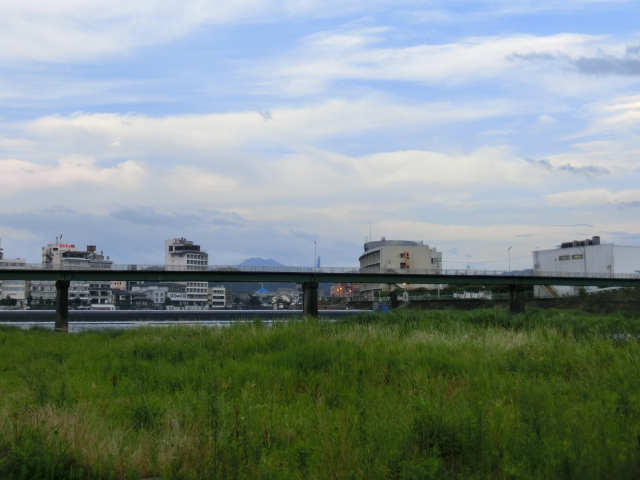 三隈川 ランニング (1)