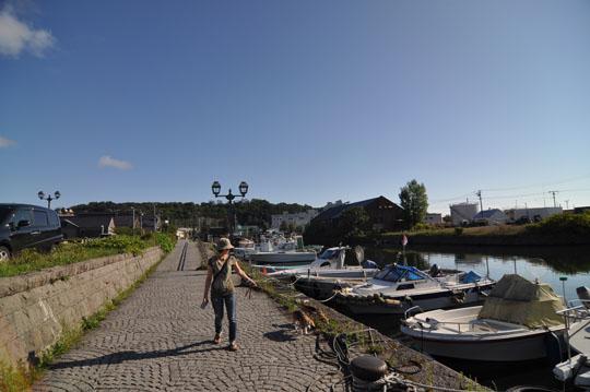 326小樽運河散歩