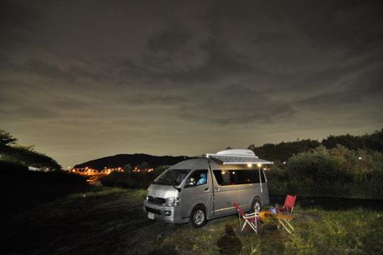001夜の河原