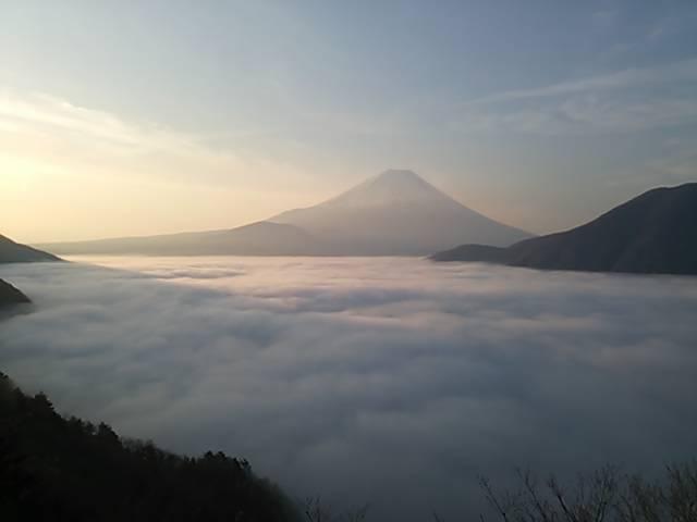UTMF富士山雲海