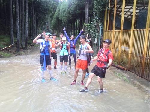 京都豪雨トレイル大水たまり2
