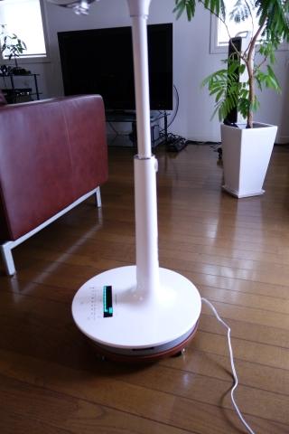 扇風機 移動台 DIY