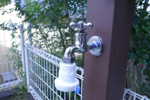 立水栓 シャワー