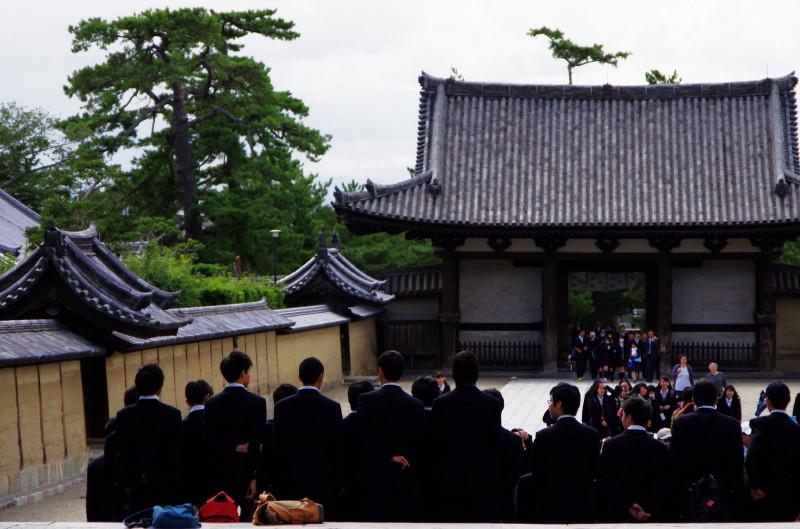 法隆寺 修学旅行