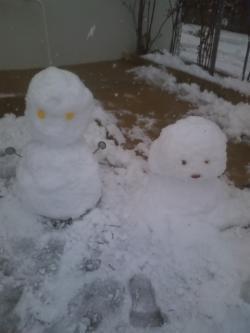 2-14雪だるま