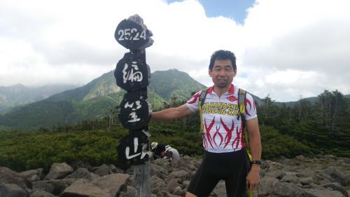 編笠山頂(3)