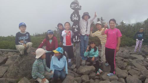 山頂(3)