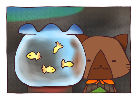 求む!カワイイ小金魚