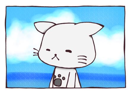 臆病なオトモアイルー ブルブル ニコ