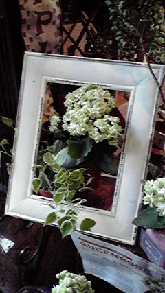 生の花の絵