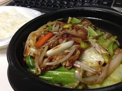 肉野菜弁当