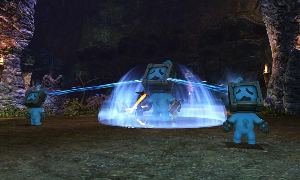 『BOUNDRA:バンドラ』ダンジョン「湖底の洞窟:エクストラモード」実装!