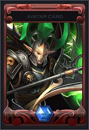 『カオスヒーローズオンライン』ゲーム内で使用できるアバター「緑の穿光メデューサ」「緑の閃光アルカラス」をプレゼント