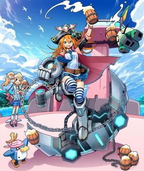 『コズミックブレイク』新キャラクター「キャプテン・サニー」&「キリカ」が登場!「キャプテン・サニー」