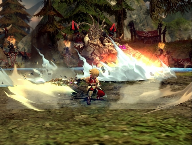 3Dアクションオンラインゲーム『ドラゴンネスト』