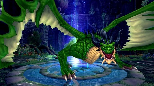 『 幻想神域 -Innocent World- 』 古の封印を解く闇の勢力と撃滅の翔龍降臨!「翔龍王 降臨の間」が実装!