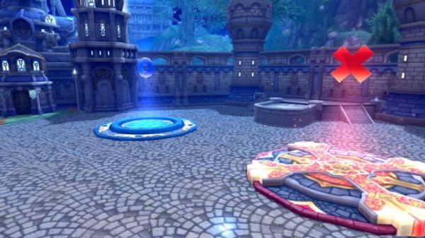 人気オンラインゲーム『 幻想神域 -Innocent World- 』 幻想クイズ専用マップ「幻想庭園」