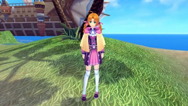 人気オンラインゲーム『 幻想神域 -Innocent World- 』 美少女ペット「バービー」