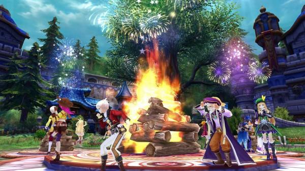 『 幻想神域 -Innocent World- 』ギルドタウンでお祭り騒ぎ!?「ギルドフェス」