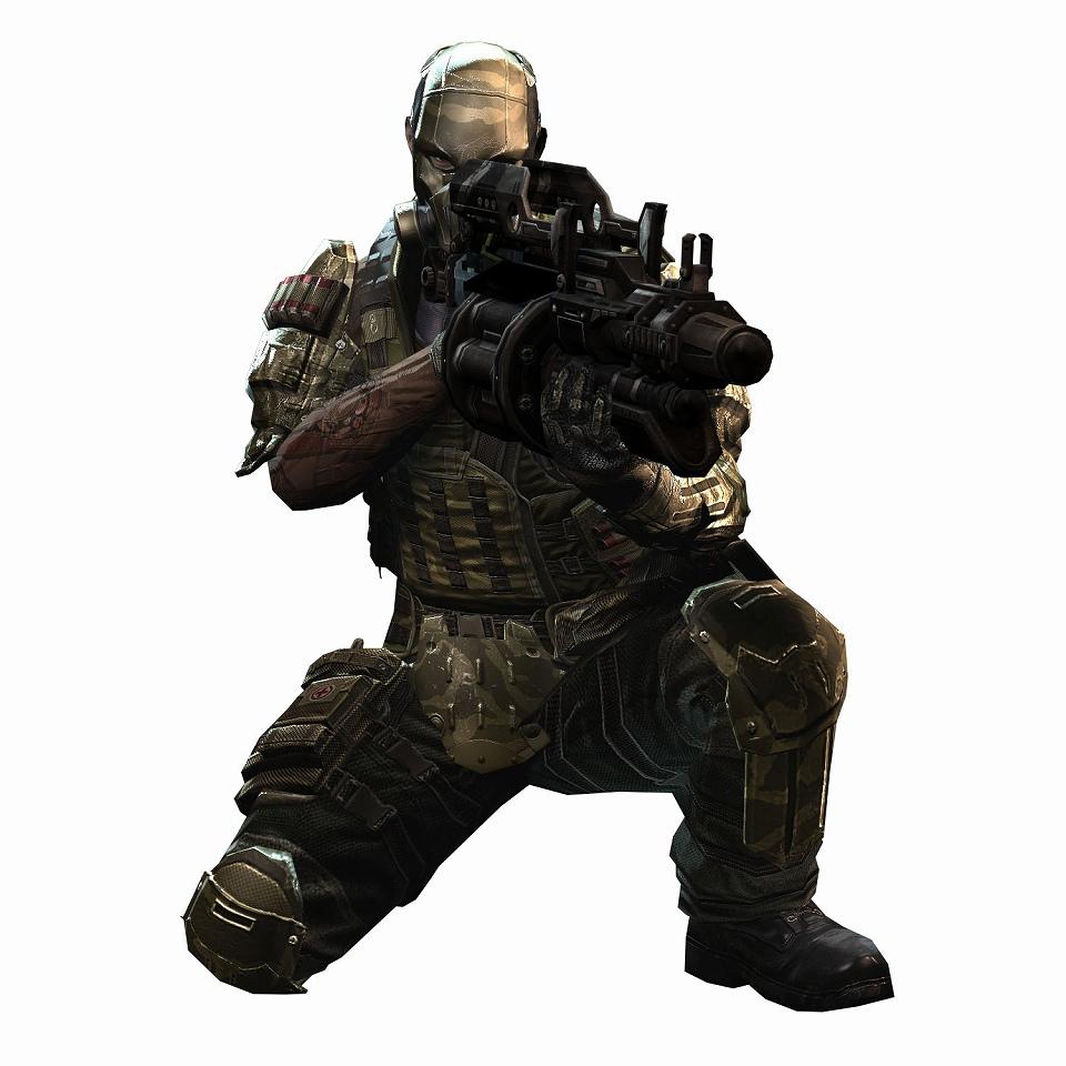 注目の新作オンラインゲーム『HOUNDS:ハウンズ』洗練された高性能なオリジナルデザインの三系統の防具が登場だ!突撃コマンド専用アーマー(男性)
