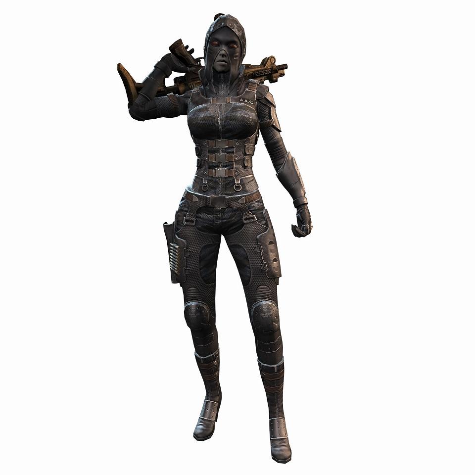 注目の新作オンラインゲーム『HOUNDS:ハウンズ』洗練された高性能なオリジナルデザインの三系統の防具が登場だ!市街戦用迷彩服(女性)