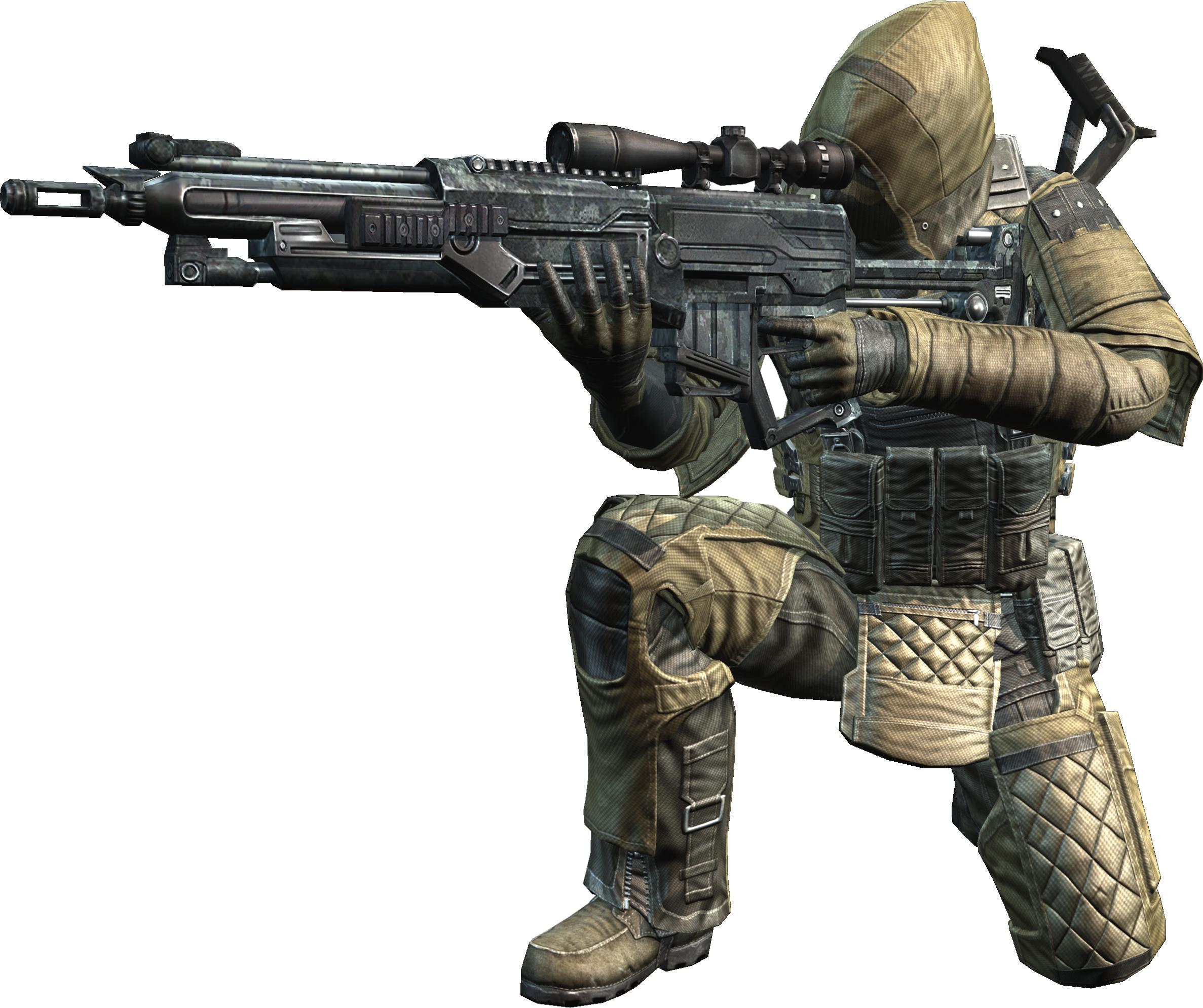 『HOUNDS:ハウンズ』『レベル15到達で強力な武器防具ゲット!新規入隊キャンペーン実施!』<男性キャラクター特典アイテム装備例>