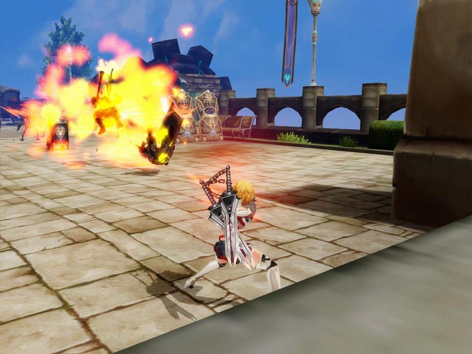 アクションオンラインゲーム『KRITIKA:クリティカ』「覚醒」スキル一部紹介!「桜花煙霧(左)」or「爆砕(右)」のどちらか1つを選択!