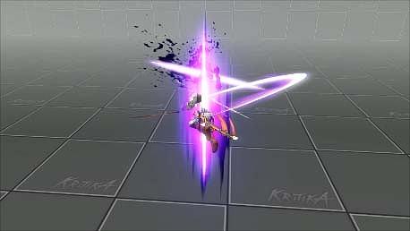 アクションオンラインゲーム『KRITIKA:クリティカ』「覚醒」スキル一部紹介!影術師「シュバルツシクローン」が覚醒→「アウフシュティグ」