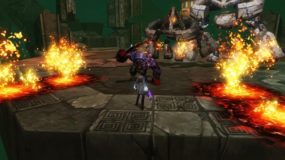 超アクションオンラインゲーム『 KRITIKA:クリティカ 』「イベントステージ」強力なボスが2体同時に出現するステージも登場