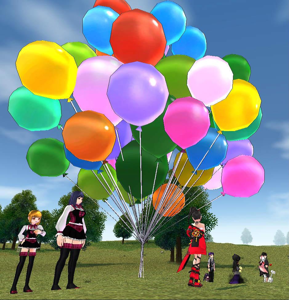 『マビノギ』「夏合宿!風船飛ばしバトル」イベントを実施