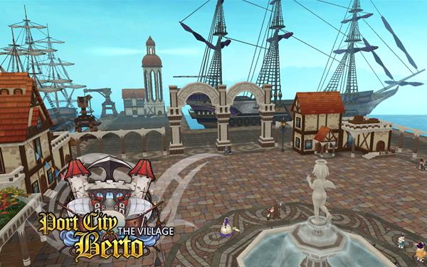 新作PCオンラインゲーム『タルタロス:リバース』新規エリア「港町ベルト」追加
