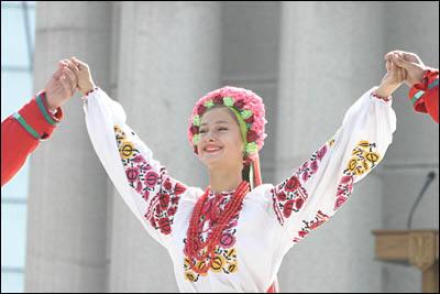 ウクライナの女性