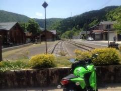 線路の終わり