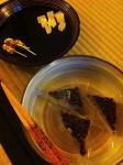 お茶菓子水無月