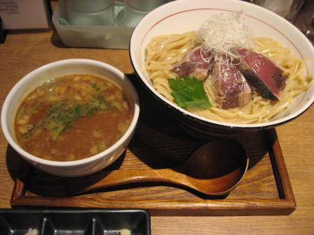 鰹白湯つけ麺