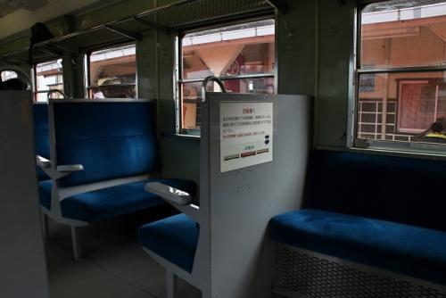 いすみ鉄道 キハ52 シート