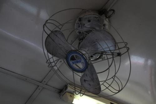 いすみ鉄道 キハ52 扇風機
