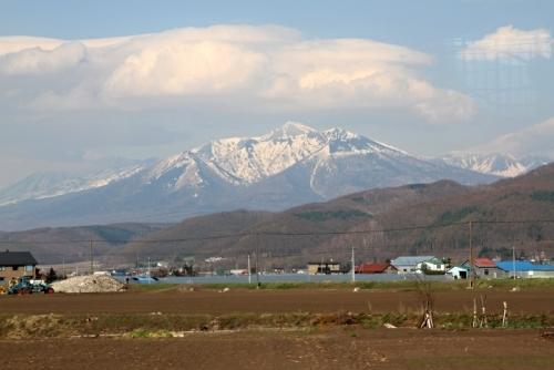 富良野周辺の山々