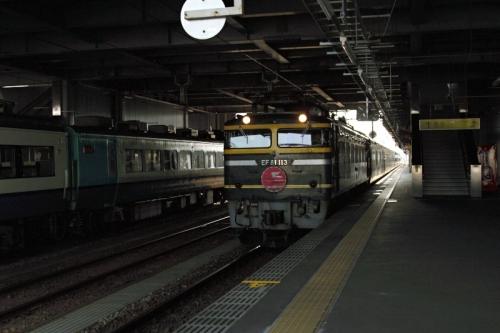 高岡駅にて特急 2