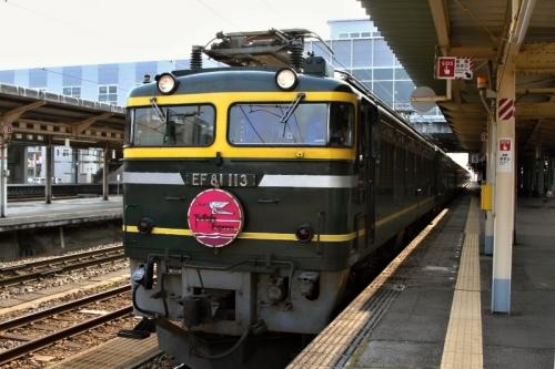 高岡駅にて特急 3