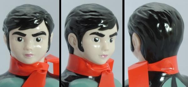 仮面ライダー旧1号・素顔:顔アップ