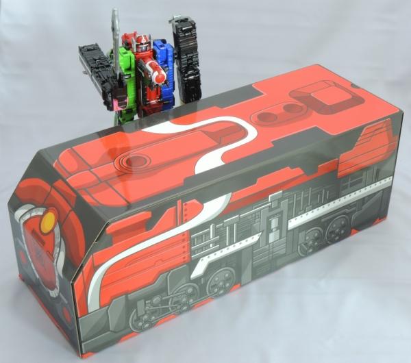 トッキュウジャー オリジナルBOX