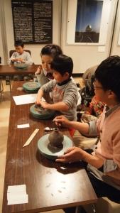 陶芸教室2014冬