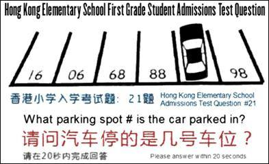 Hong Kong Elementary Admission Test
