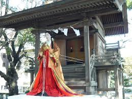 白瀧姫 生人形