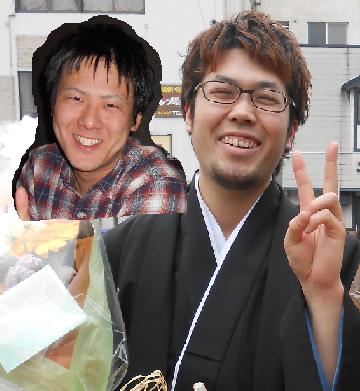 翁先輩と松田先輩