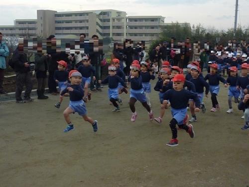 幼稚園マラソン大会 (2)