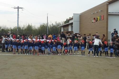 幼稚園マラソン大会 (1)